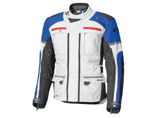 Carese Evo Adventure Jacke mit herausnehmbarer 3-Lagen GoreTex Membran Grau/Blau