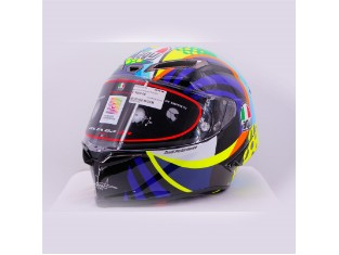 Pista GP RR Winter Test 2020 Soleluna Limited Edition Valentino Rossi Helm