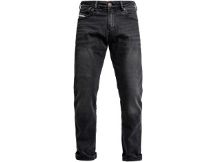 Tayler Mono Jeans Black Used Motorrad Jeans Länge: 34