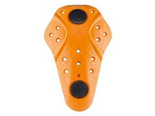 CE Knie Protektor Level 1 mit Klett orange