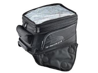 Carry 2 Tankrucksack mit Magnet-System schwarz