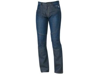 Fame 2 Motorrad Jeans blau