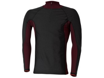 Windblocker Skin Shirt schwarz/rot