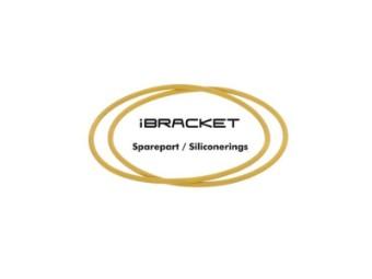 iBracket Ersatz - Silikonringe 2 Stück gelb