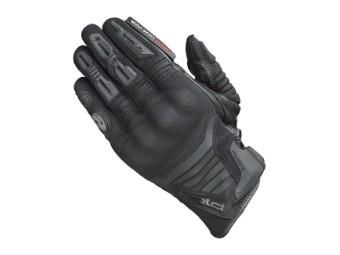 Hamada Sommer Motorrad Handschuhe Schwarz