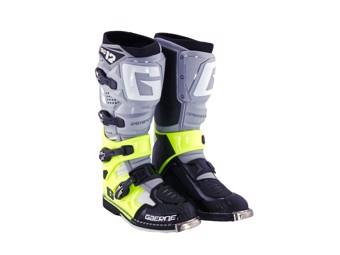 SG12 MX-Stiefel grau/gelb/schwarz