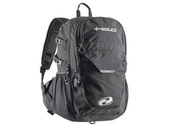 Power-Bag Motorrad Rucksack 20 Liter schwarz