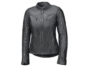 Sabira Damen Lederjacke schwarz