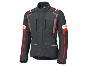 4-Touring 2 Damen Jacke wasserdicht Schwarz/Rot