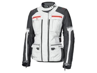 Carese Evo Adventure Damen Jacke herausnehmb. 3-Lagen GoreTex Membran Grau/Rot