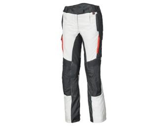 Torno Evo Adventure Damen Hose mit herausnehmb. 3-Lagen GoreTex Membran Grau/Rot