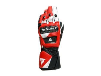 Druid 3 Handschuhe Schwarz/Weiß/Rot