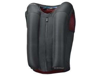 eVest Airbag Weste für Motorradfahrer inkl. In&box mit Reißverschluss