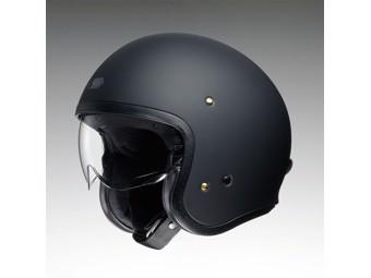 JO Jet Helm matt-schwarz