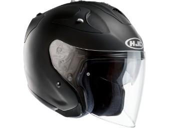 FG-JET matt-schwarz Jet-Helm