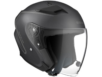 Outstar Jet-Helm Bluetooth Matt-Schwarz