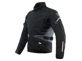 Tempest 3 D-Dry Touren Motorrad Jacke wasserdicht schwarz/schwarz/ebony