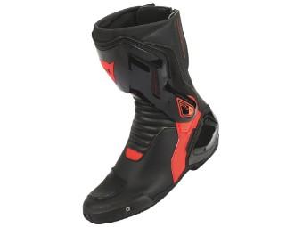 Nexus Stiefel schwarz/neon-rot