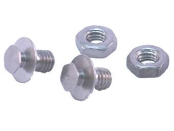 Lock Pin / Kinn Schrauben für Shoei Neotec Neotec 2 Multitec Syncrotec silber