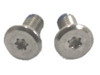Kinnteil Schraube für Shoei Neotec & Neotec 2 silber