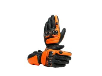 Impeto Handschuhe Schwarz/Flame-Orange