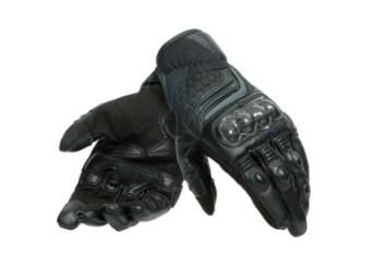 Carbon 3 Short Handschuhe schwarz/schwarz
