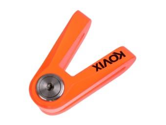 KVX Brems-Scheibenschloss 14mm orange-fluo