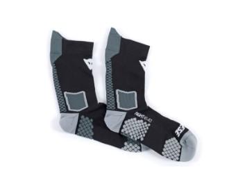 D-Core Mid Socks Socken schwarz/anthrazit