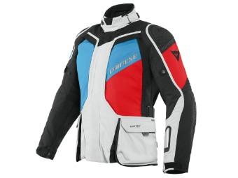 D-Explorer 2 Gore-Tex Jacke grau/blau/rot/schwarz