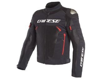 Dinamica Air D-Dry Jacke schwarz/rot