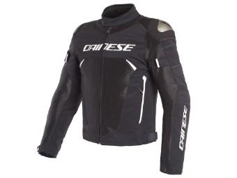 Dinamica Air D-Dry Jacke schwarz/schwarz/weiß