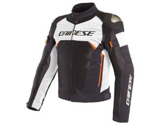 Dinamica Air D-Dry Jacke schwarz/weiß/fluo-rot