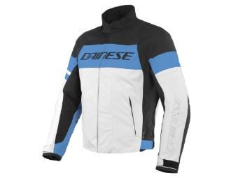 Saetta D-Dry Jacke schwarz/blau/schwarz