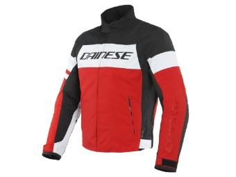 Saetta D-Dry Jacke weiß/rot/schwarz