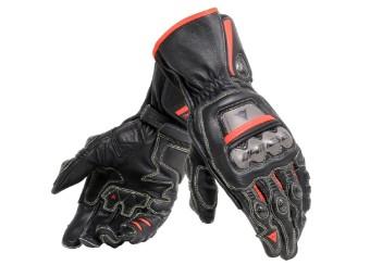 Full Metal 6 Handschuhe schwarz/rot-fluo