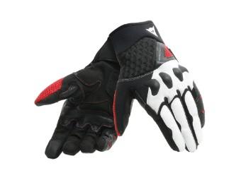 X-Moto Unisex Handschuhe schwarz/weiß/rot