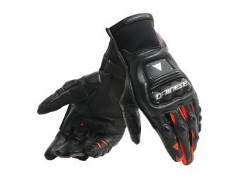 Steel Pro IN Handschue schwarz/fluo-rot
