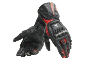 Steel Pro Handschuhe schwarz/fluo-rot