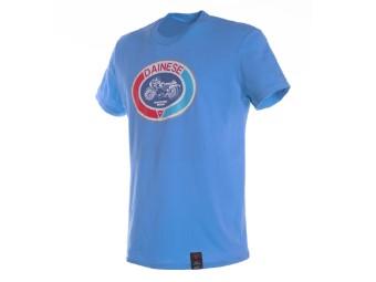 Moto 72 T-Shirt blau aster