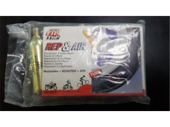 Reifen-Reparaturset für Reifen mit Schlauch