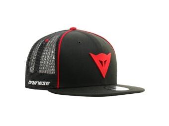 9Fifty Trucker Snapback Cap schwarz/rot