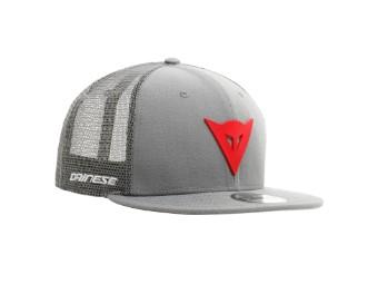 9Fifty Trucker Snapback Cap grau/rot