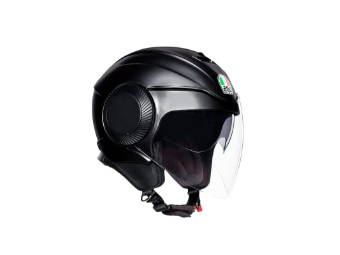 Orbyt Jet-Helm matt-schwarz