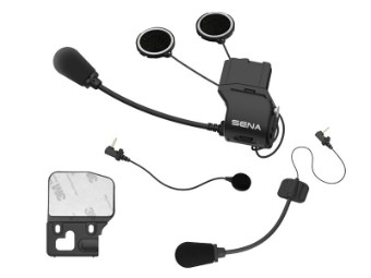 20S + 30K Universal Helm Klemm Kit mit Mikrofon