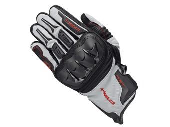 Sambia Handschuhe schwarz/grau/rot