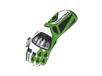 Phantom 2 Handschuh weiss/grün
