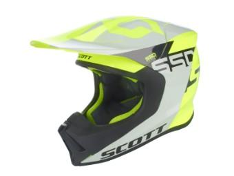 550 Woodblock Helm grau/gelb