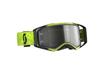 Goggle Prospect LS schwarz/gelb