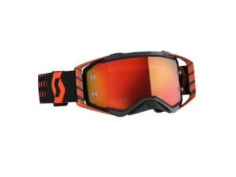Goggle Prospect orange/schwarz Glas: ora chro wks