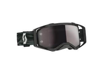 Prospect Goggle GLAS: silver chrome wks Camo Grau MX Enduro Brille